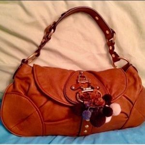 Juicy Couture  Butter Soft Leather Shoulder Bag